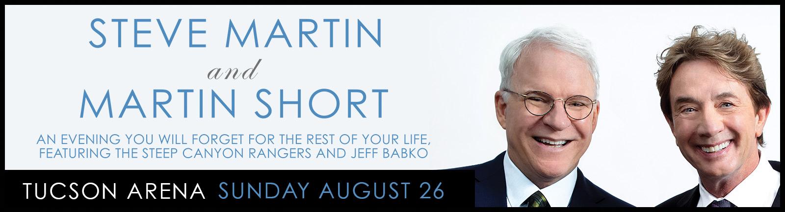 Steve Martin and Martin Short - \