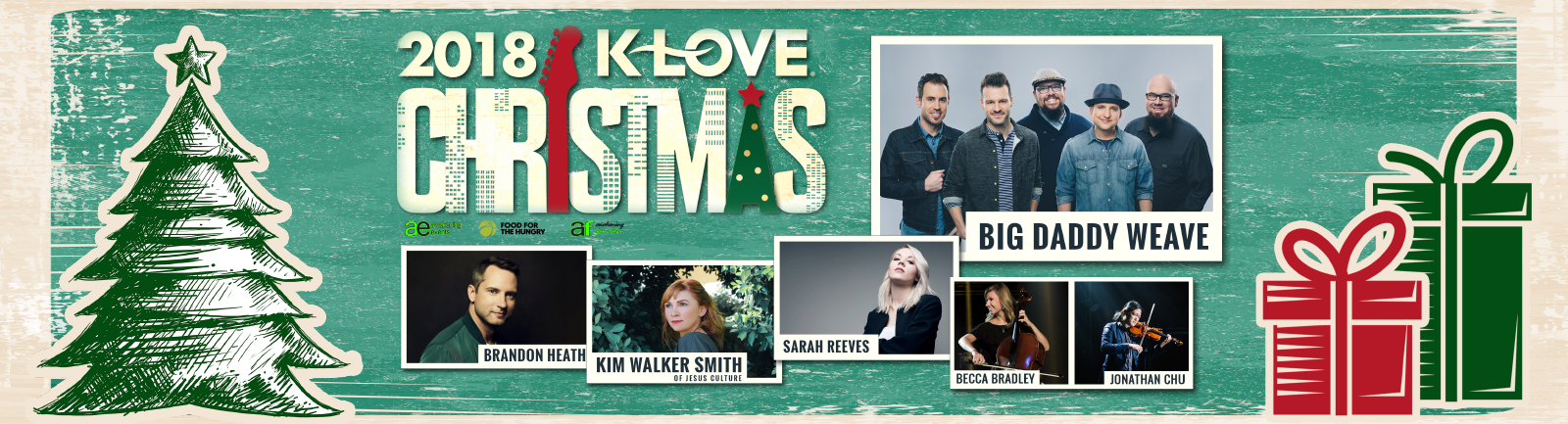 Who Is The Minster At The 2020 Klove Christmas Tour K Love Christmas